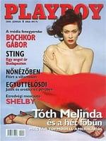 Playboy Hungary June 2000 magazine back issue