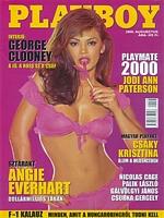 Playboy Hungary August 2000 magazine back issue