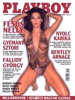 Playboy Hungary November 2000 magazine back issue