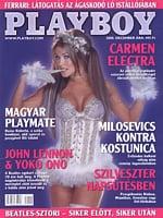 Playboy Hungary December 2000 magazine back issue