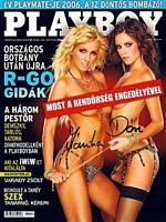 Playboy Hungary September 2006 magazine back issue