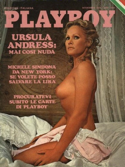 Pictures ursula andress playboy