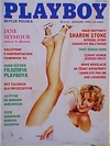 Sharon Stone magazine cover Appearances Playboy (Poland) April 1993