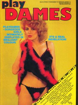 Play Dames Vol. 3 # 3 magazine back issue Play Dames magizine back copy