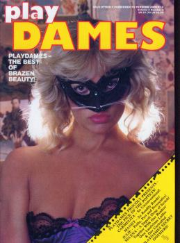 Play Dames Vol. 3 # 9 magazine back issue Play Dames magizine back copy