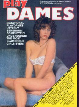 Play Dames Vol. 3 # 12 magazine back issue Play Dames magizine back copy