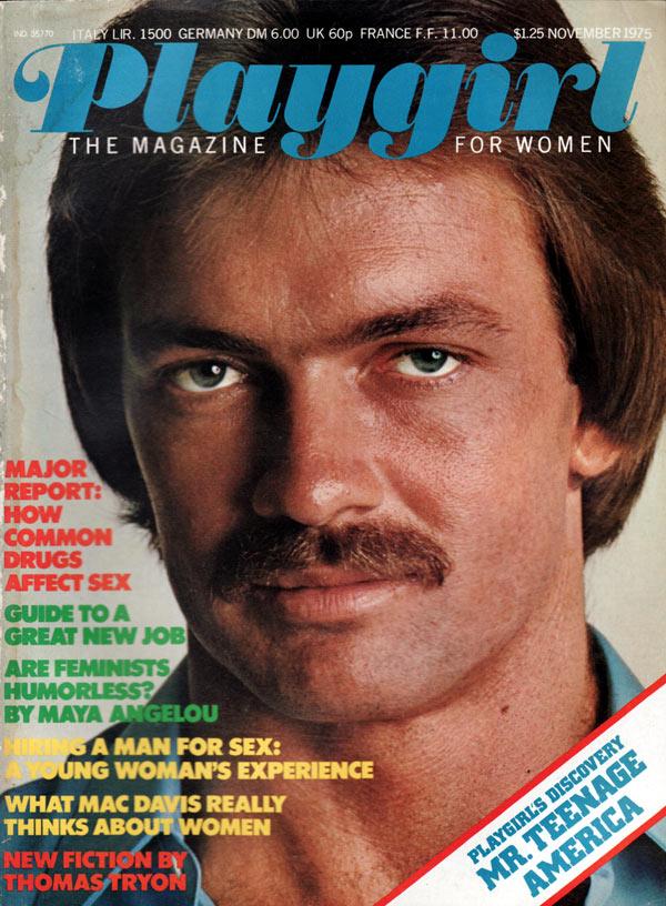 Playgirl # 30, November 1975 Magazine, Playgirl Nov 1975