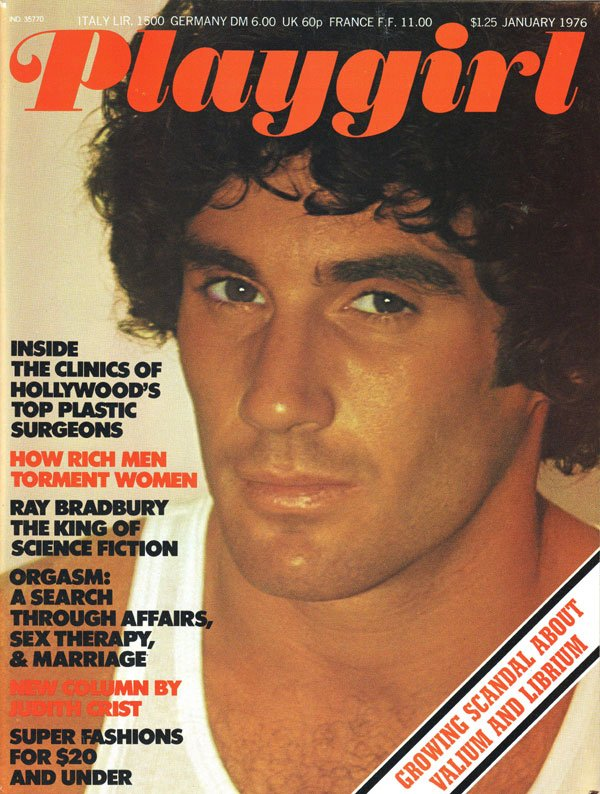 Playgirl January 1976 magazine back issue Playgirl magizine back copy plastic surgeon, playgirl magazines, orgasm, valium and librium, sex therapy, vintage, backissues, x