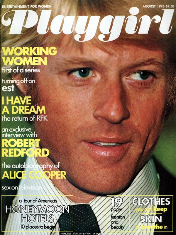 Playgirl August 1976 Magazine Back Issue Playgirl WonderClub