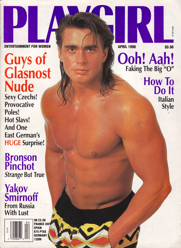 Playgirl April 1990 Product Playgirl April 1990