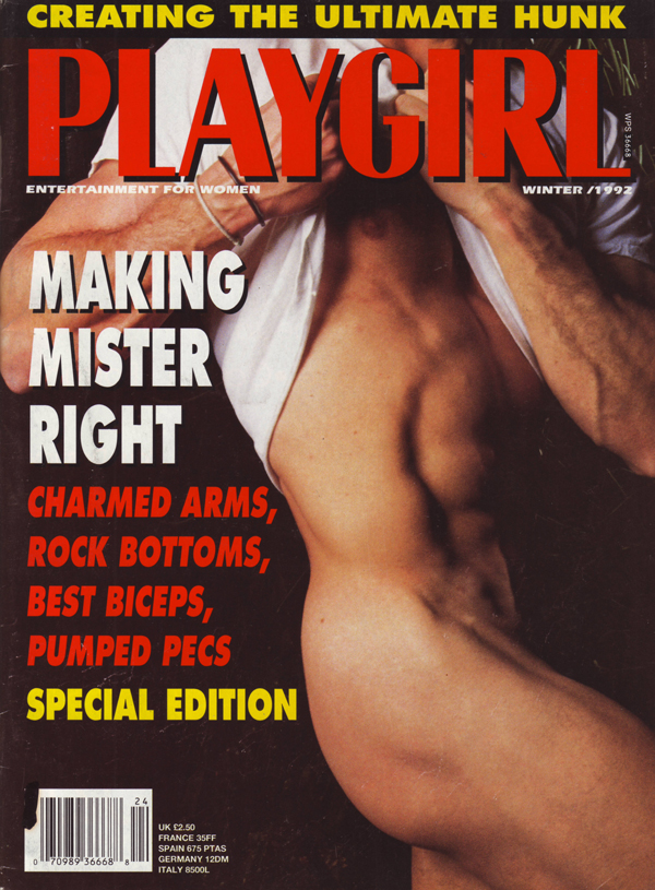 from Kristopher wife loves playgirl magazine