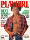 Playgirl December 1989 magazine back issue