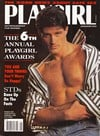 Playgirl January 1993 magazine back issue cover image