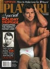 Playgirl December 1993 magazine back issue cover image