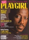 Wesley Snipes delivers good sex and nasty kisses for Playgirl Mag Back Issue Apr 98 Magazine Back Copies Magizines Mags