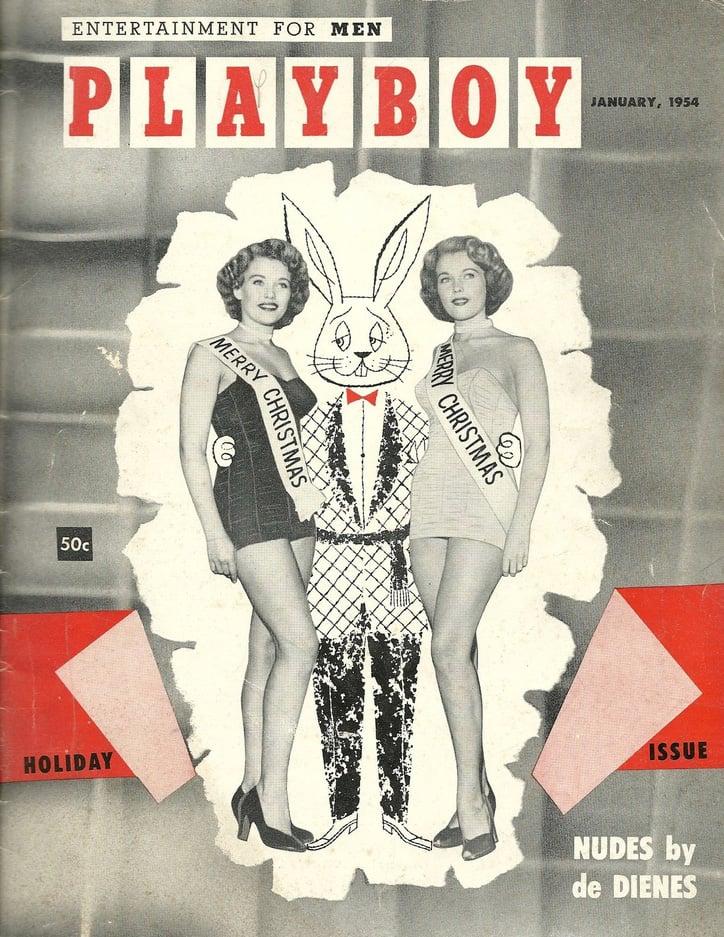 Playboy (USA) Vintage Magazine Back Issue Dated January 1954