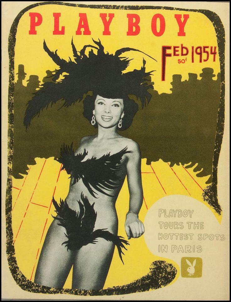 Playboy (USA) Vintage Magazine Back Issue Dated February 1954