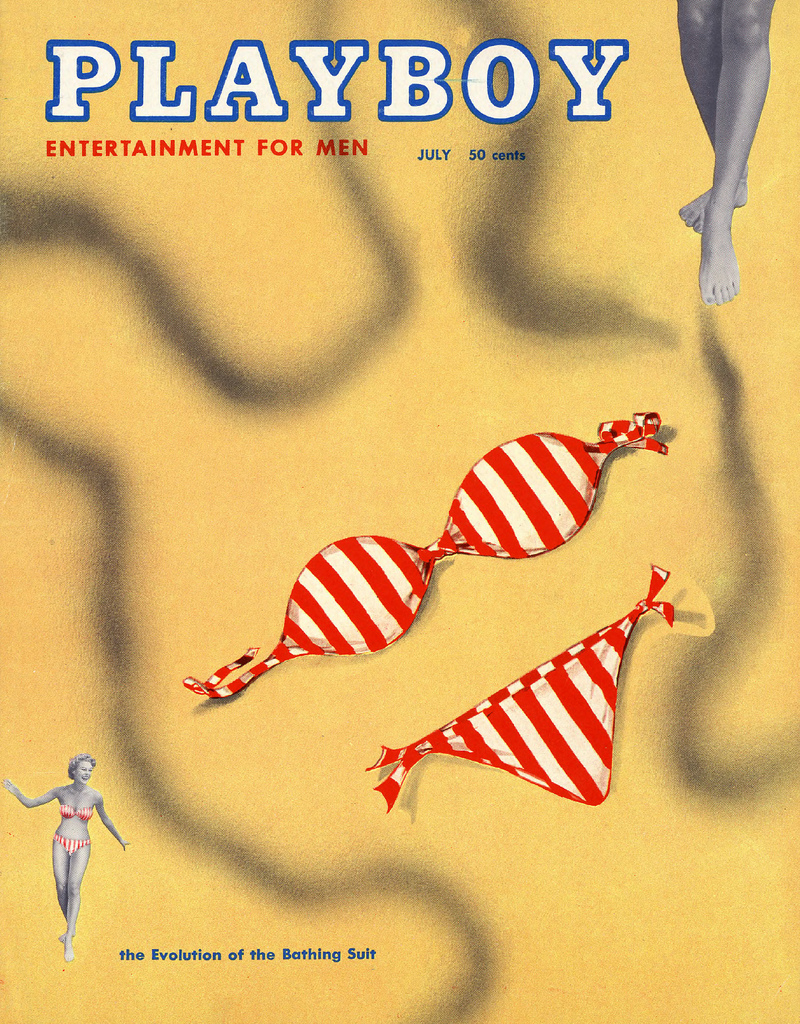 Playboy (USA) Vintage Magazine Back Issue Dated July 1954