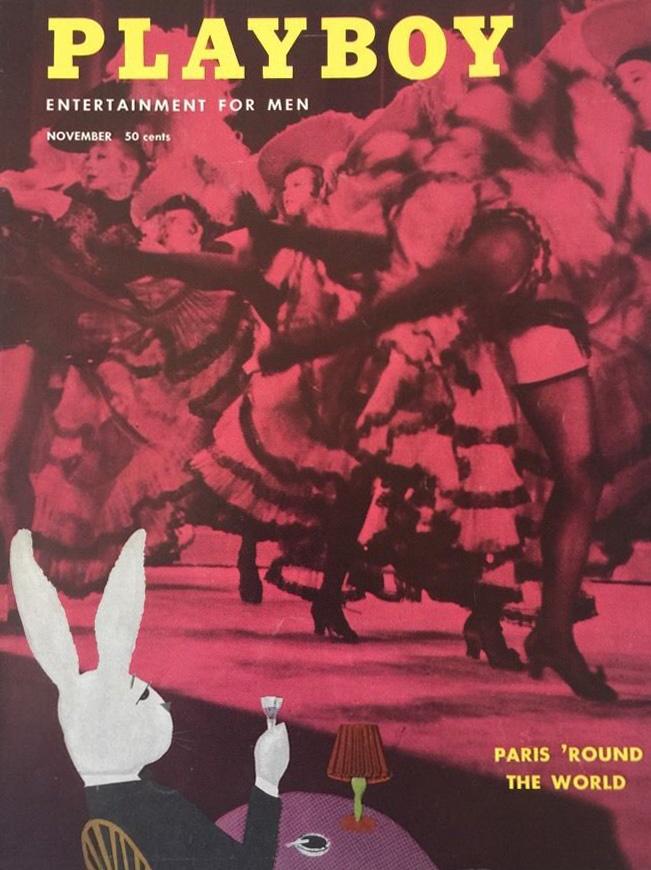 Playboy (USA) Vintage Magazine Back Issue Dated November 1954