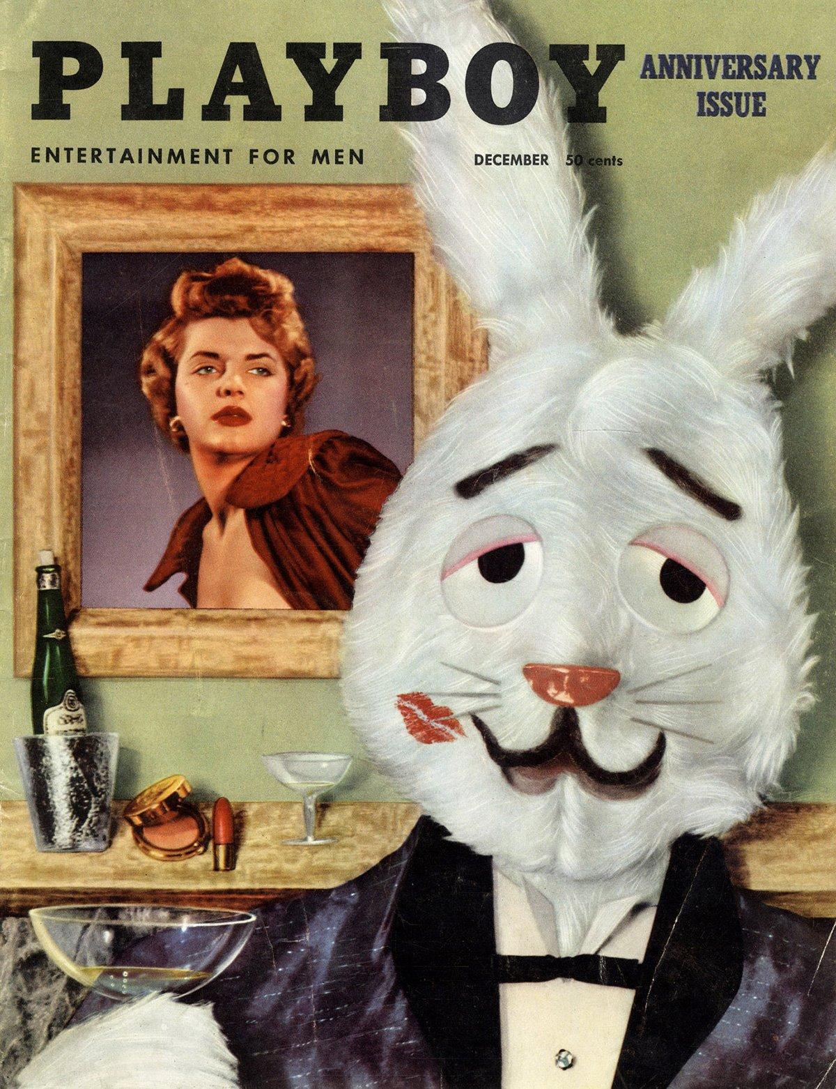 Playboy (USA) Vintage Magazine Back Issue Dated December 1954