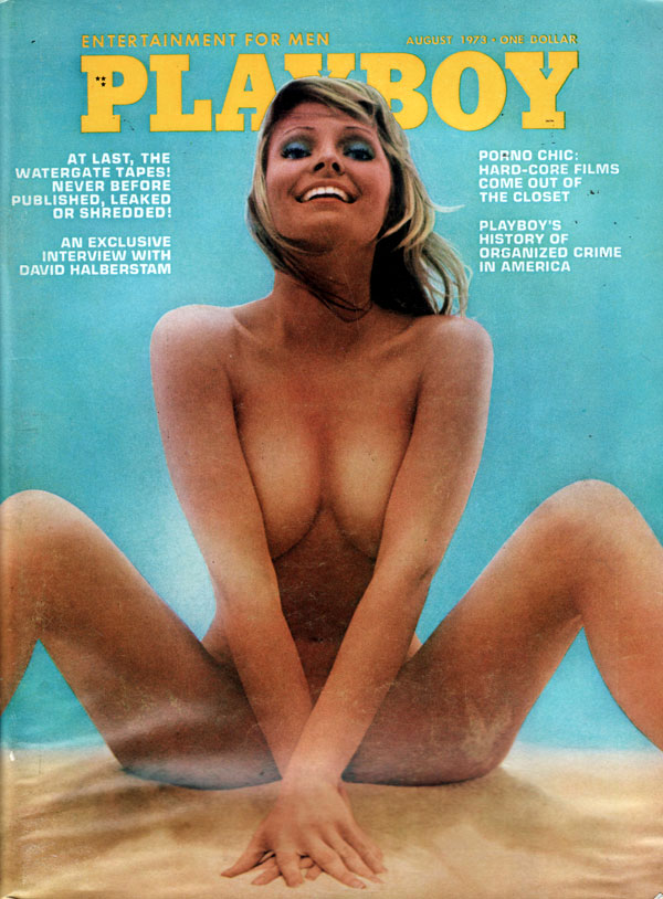 Playboy August 1973 magazine back issue Playboy magizine back copy porn chic pictorial playboy magazine artistic nude photographs of sexy naked women