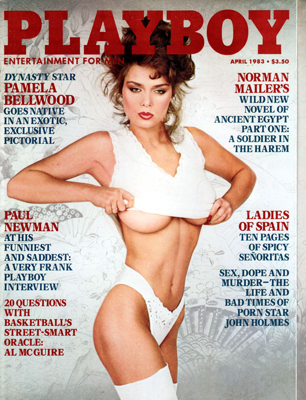 Playboy April 1983 magazine back issue Playboy (USA) magizine back copy Ladies of Spain get naked for Playboy Magazine Issue