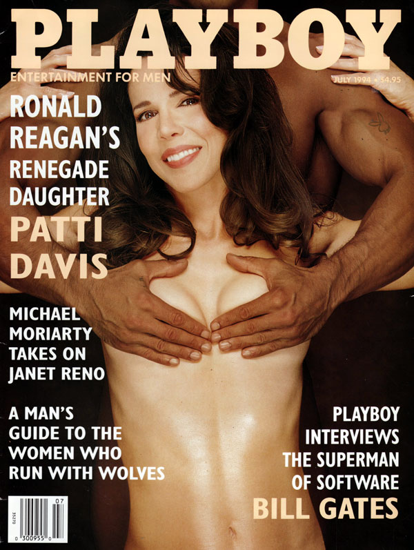 Playboy July 1994 magazine back issue Playboy magizine back copy BillGates the superman of software interviewed by playboy magazines women who run with wolves