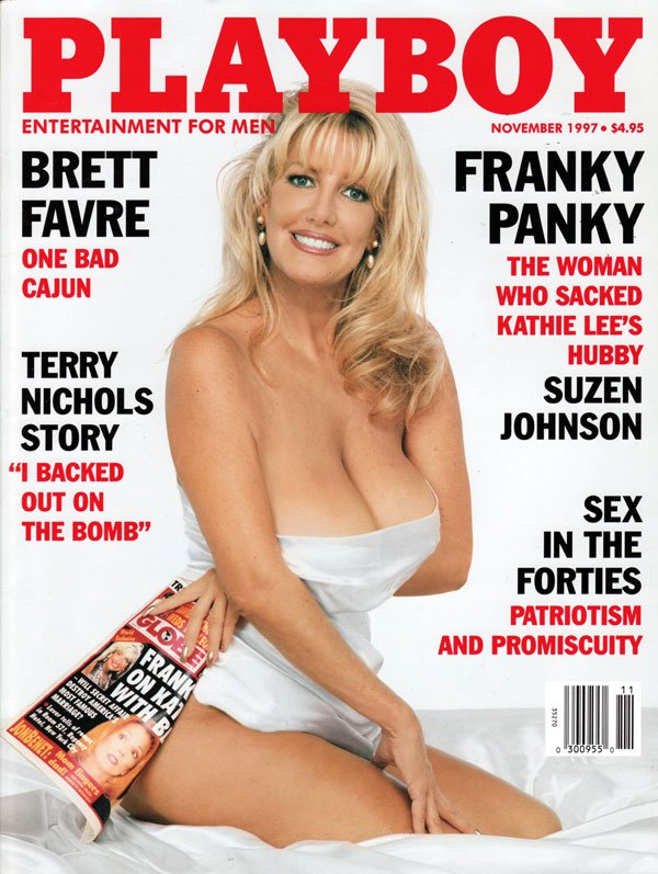 Playboy November 1997 magazine back issue Playboy magizine back copy patriotism promiscuity sex brettfavre one bad cajun playboy sexpics suzenjohnson