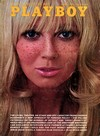 Playboy August 1969 magazine back issue cover image