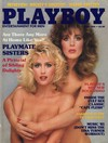 Playboy April 1985 magazine back issue cover image