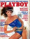 Playboy June 1985 magazine back issue cover image