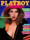 Playboy November 1985 magazine back issue cover image
