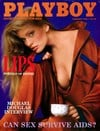 Playboy February 1986 magazine back issue