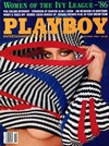 Playboy October 1986 magazine back issue