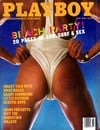 Beach Party! Playboy Style, with 20 pages of sun, surf & sex! Get this party started! Magazine Back Copies Magizines Mags