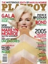 mysterious death of marilynmonroe uncensored lastwords holiday blowout issue piercebrosnan bond Magazine Back Copies Magizines Mags