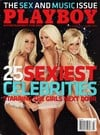 Playboy March 2008 magazine back issue