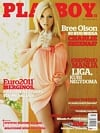 Bree Olson magazine cover Appearances Playboy (Lithuania) October 2011