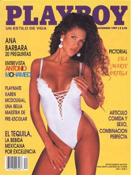 Playboy (Mexico) August 2014 Magazine Back Issue Playboy
