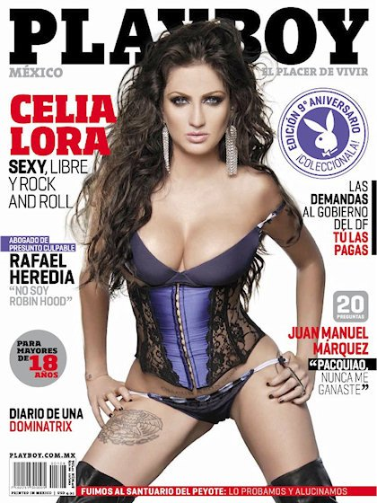 60 Top Playboy Mexico Magazine December 2015 Issue Cover
