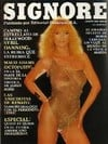 Sybil Danning magazine cover appearance Playboy (Mexico) August 1983