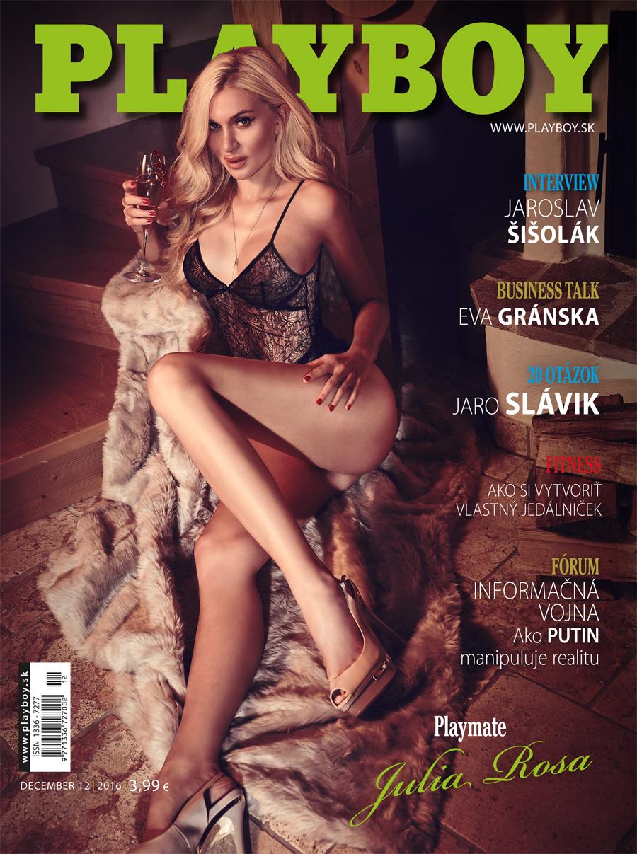 Playboy (Slovakia) December 2016 Magazine Playboy Dec 2016
