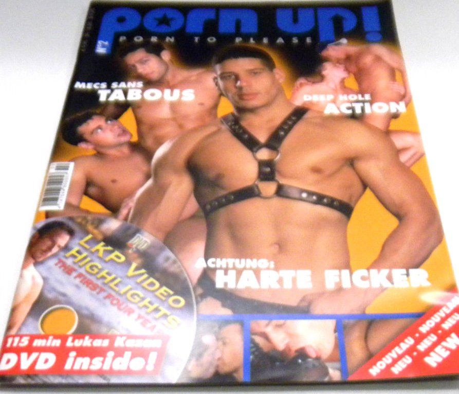 Porn Up # 2 magazine back issue Porn Up magizine back copy