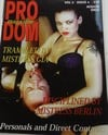 Pro Dom Vol. 2 # 4 magazine back issue cover image