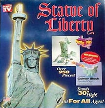 Statue of Liberty 3d Puzz by Wrebbit, statueofliberty libertystatue symbol of freedom gift statueofliberty