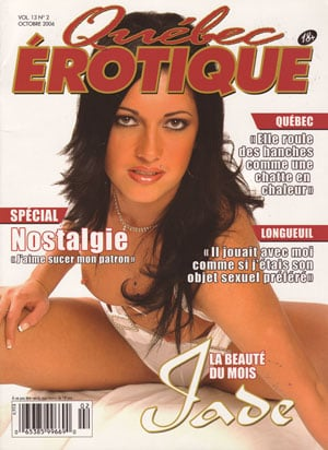 Qubec ?rotique Vol. 13 # 2 - Octobre 2006 magazine back issue Qu�bec �rotique magizine back copy quebec erotique magazine octobre 2006 femme quebecoise nues xxx photos pix sexuel beaute nues sexe p