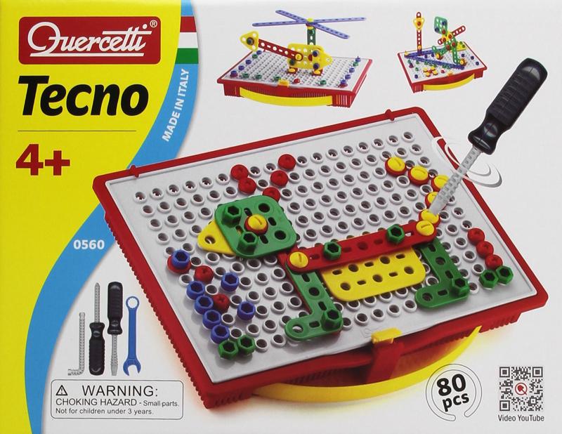 Quercetti Tecno Building Toy  quercetti-tecno