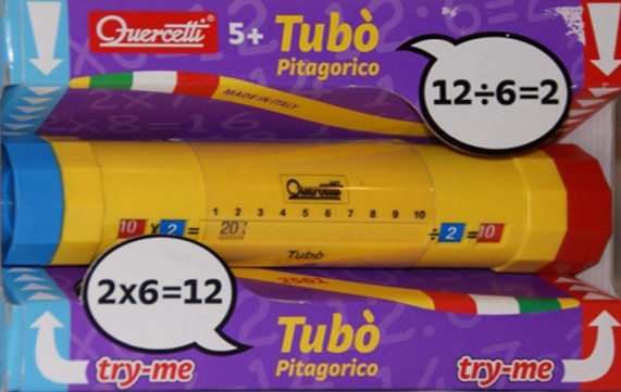 Quercetti tubo multiplication and division roller tubo-multiplication-division