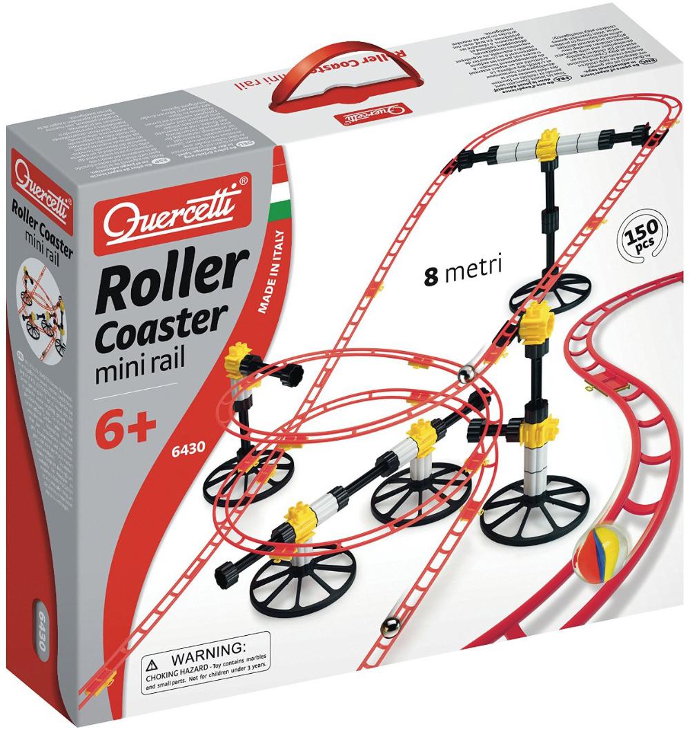 Quercetti Migoga Roller Coaster Mini Rail roller-coaster-mini-rail