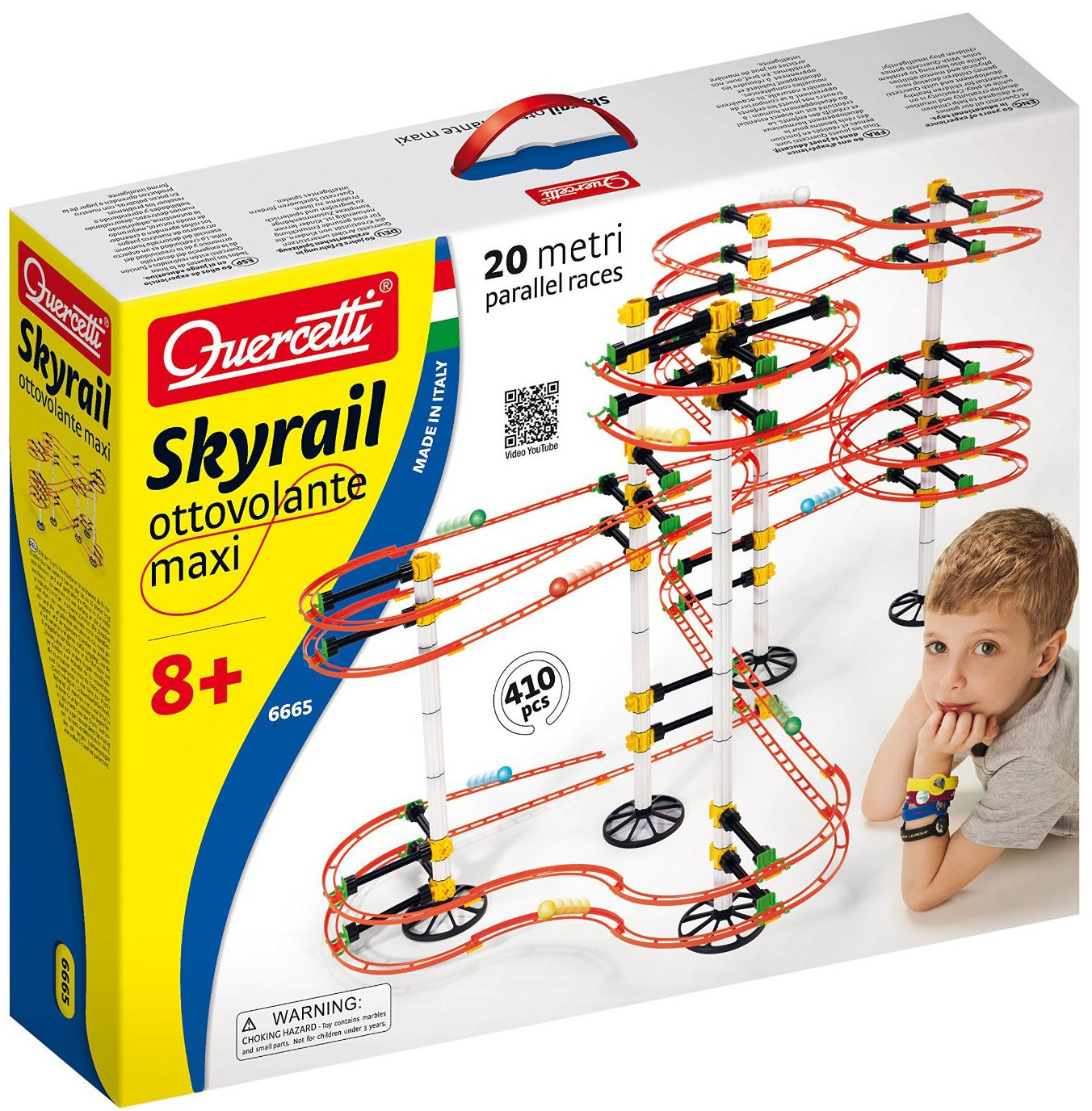 Quercetti skyrail ottovolante maxi for ages 8 and up skyrail-ottovolante-maxi